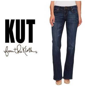 Kut from the Kloth Farrah Baby Bootcut Jeans👖